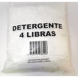 DETERGENTE EN POLVO GEN. 4 Lbs